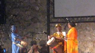 Mama Bi Kidude (95-year-old at the time) performing in Stone Town, Zanzibar June 2007 (clip 2)