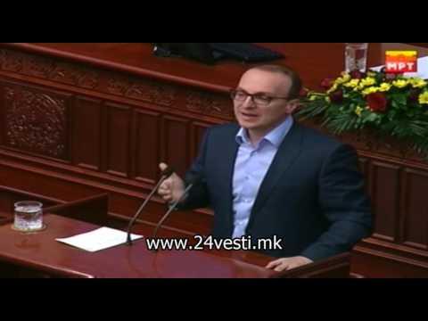 IZJAVI SOBRANIE ANTONIO MILOSOSKI VMRO DPMNE I EJUP HALIMI DUI 21 04 2017