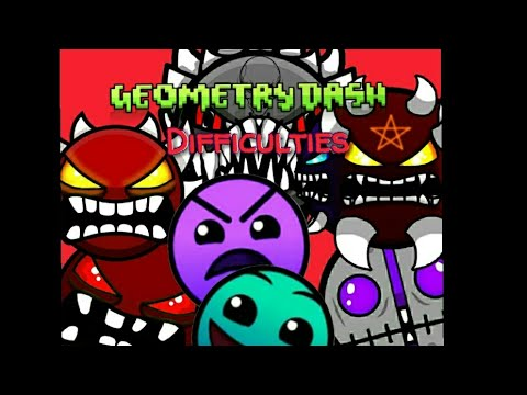 Geometry Dash Difficulty Icons Ideas Part 2 Fan Made Youtube