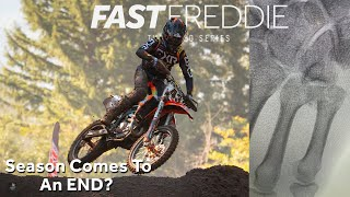 Season Ending Crash!?! with Fast Freddie Noren - Motocross Action Magazine
