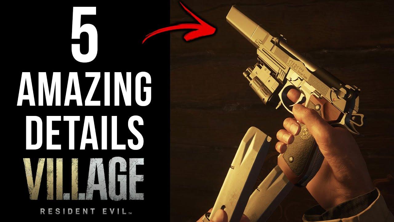 5 AMAZING Details in Resident Evil Village