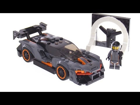 LEGO Speed Champions McLaren Senna review 75892
