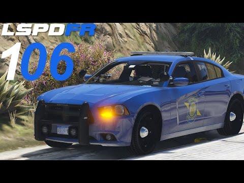 GTA 5 LSPDFR SP #106 Michigan State Police