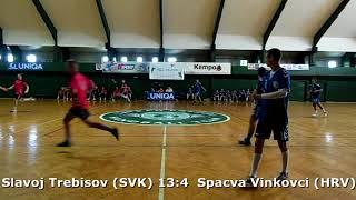 Handball. U17 boys. Sarius cup 2017. Spaсva Vinkovci (HRV) - Slavoj Trebisov (SVK) - 4:18 (2nd half)