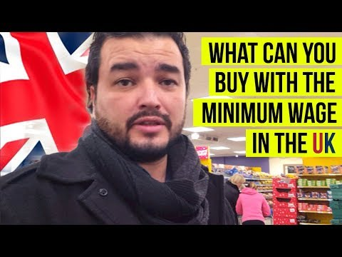 Minimum Monthly Wage in the UK & What can you buy with the minimum monthly wage?