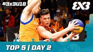 Top 5 | Day 2 | FIBA 3x3 U18 Europe Cup 2017 thumbnail