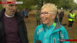 Celebrating 14 years of parkrun with the BBC