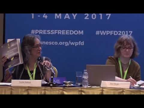 WPFD 2017 Parallel Session 10 Ensuring Artistic Freedom   A Public Policy Challenge