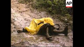 CENTRAL AMERICA: HURRICANE MITCH AFTERMATH (2)