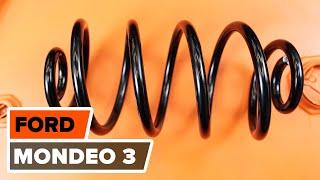 Как да сменим пружина на задното окачване наFORD Mondeo Mk3 Комби (BWY) [ИНСТРУКЦИЯ]