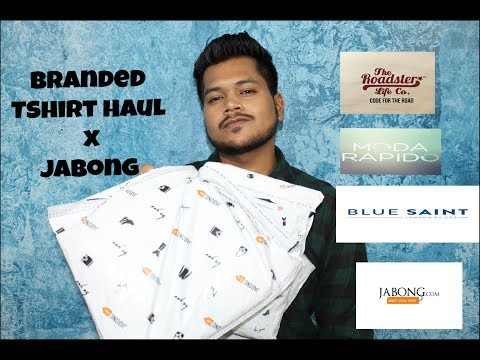 Branded Tshirt in cheap price  haul x Jabong Hindi