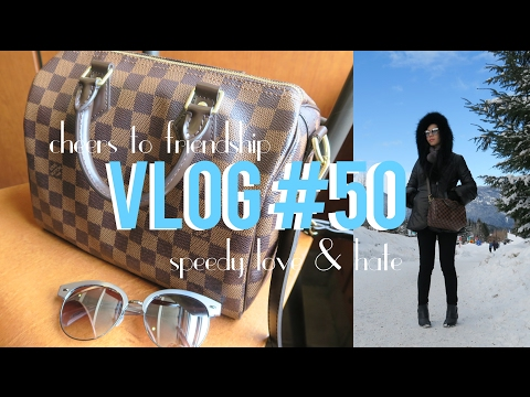 VLOG #50 SPEEDY B, CHANEL DEAUVILLE & COME WITH ME TO WHISTLER | FashionablyAMY