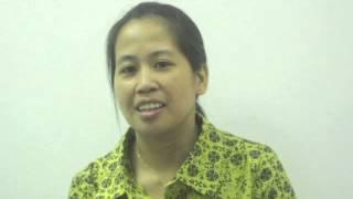 MaidCV.com - Interview of Sarah Cruz - Filipino Private Nurse/Nanny
