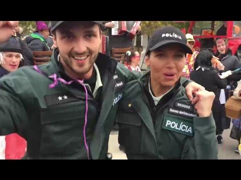 Ako sa zabávajú naši policajti (POLICAJTI V AKCII)