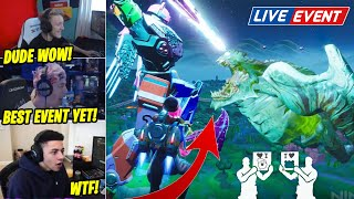STREAMERS REACT TO *LIVE*