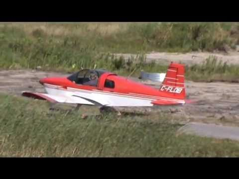 American Aviation (Grumman) AA-1A Taxiing and Takeoff CSU3
