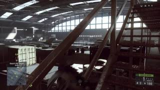 Battlefield 4 - Singapore: Airplane Hanger: Chinese Spec Ops Shootout, SCAR-H, XM25 Airburst, SPAS12