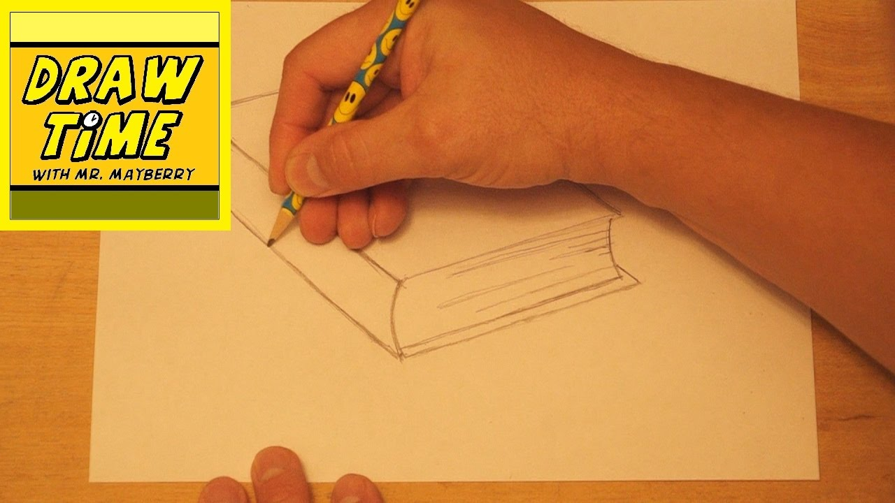 How to Draw a Library Book
