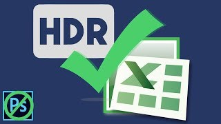HDR Photography in Microsoft Excel?!