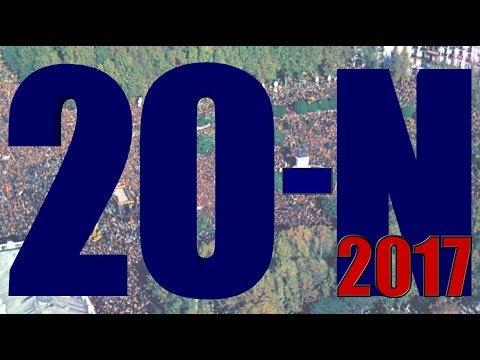 NO+DO Nº 9 20-N 2017 Manifestación Protesta de Callao a Pza. Oriente