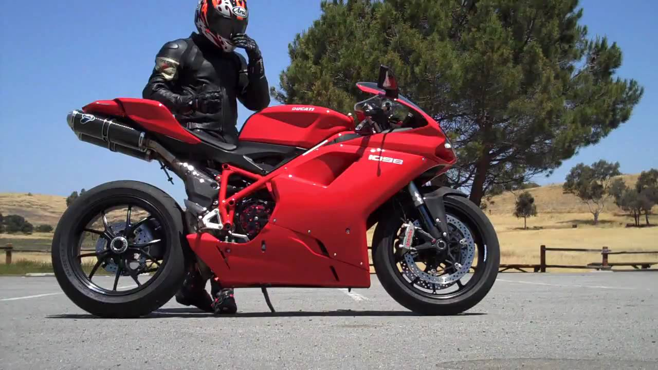 2008 Ducati 1098 Termi Exhaust, Speedy Moto Clutch Plate - YouTube