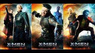 Xmen Days of Future Past Soundtrack OST 16 The Attack Begins