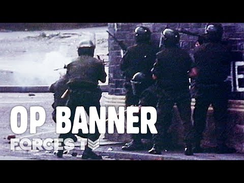 What Was It Like Serving In Northern Ireland During The Troubles? | Forces TV