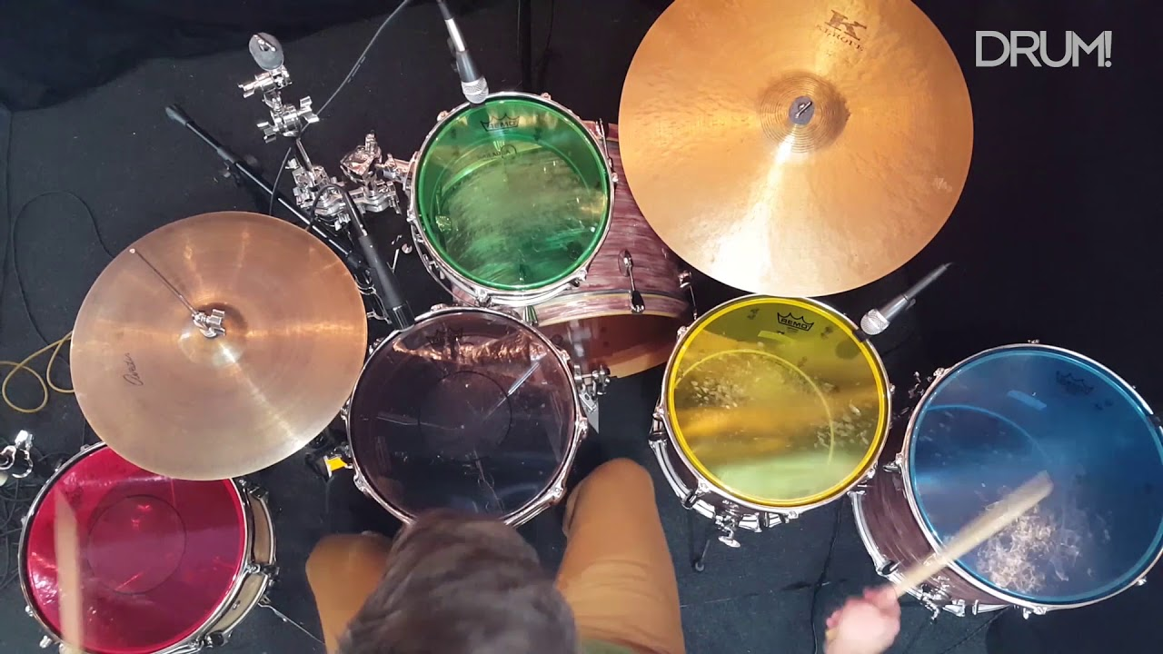 drum review remo colortone drumheads youtube. Black Bedroom Furniture Sets. Home Design Ideas