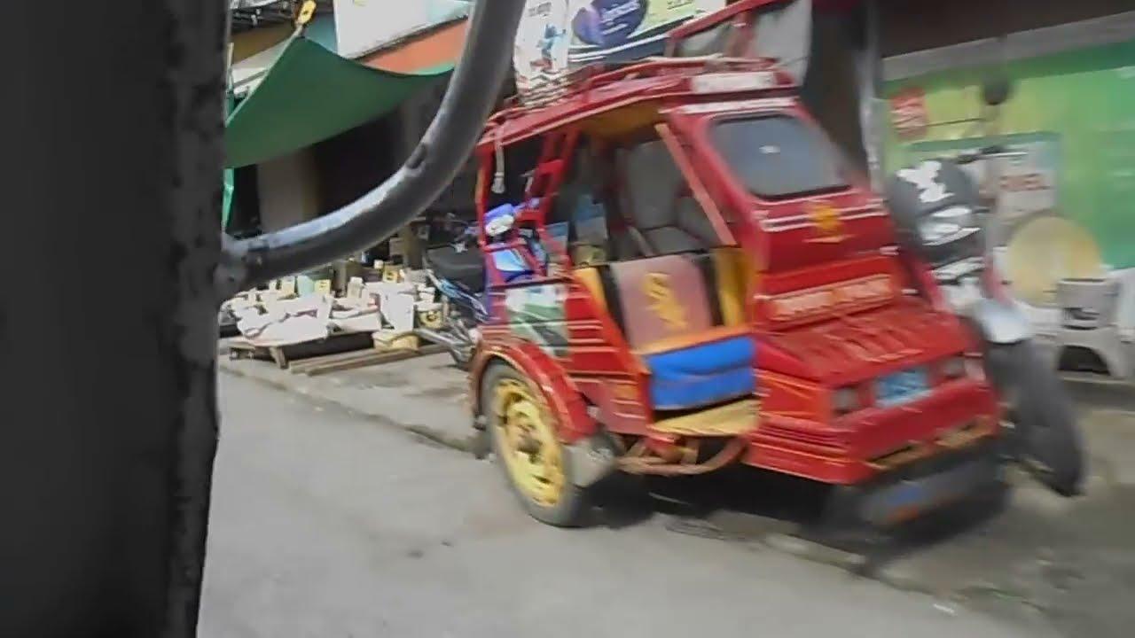 Tricycle Ride in Pototan, Iloilo, Philippines