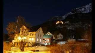 Winter Pictures From Sigerfjord In Vesterålen, Northern Norway