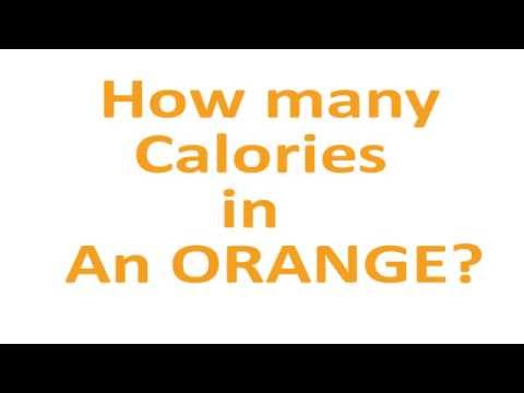 How Many Calories In An ORANGE?