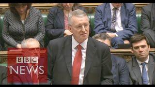Hilary Benn's Syria speech applauded by MPs - BBC News