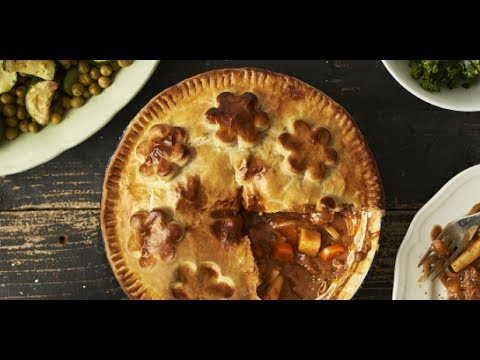 Steak and Vegetable Pie Recipe - Love Canned Food - YouTube