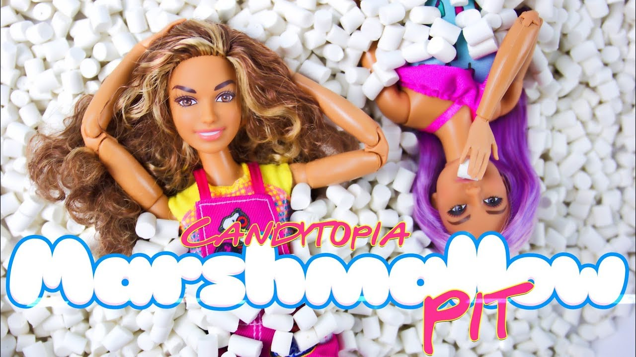 DIY - How to Make: Doll Candytopia Marshmallow Pit