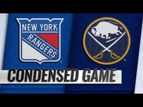 10/06/18 Condensed Game: Rangers @ Sabres