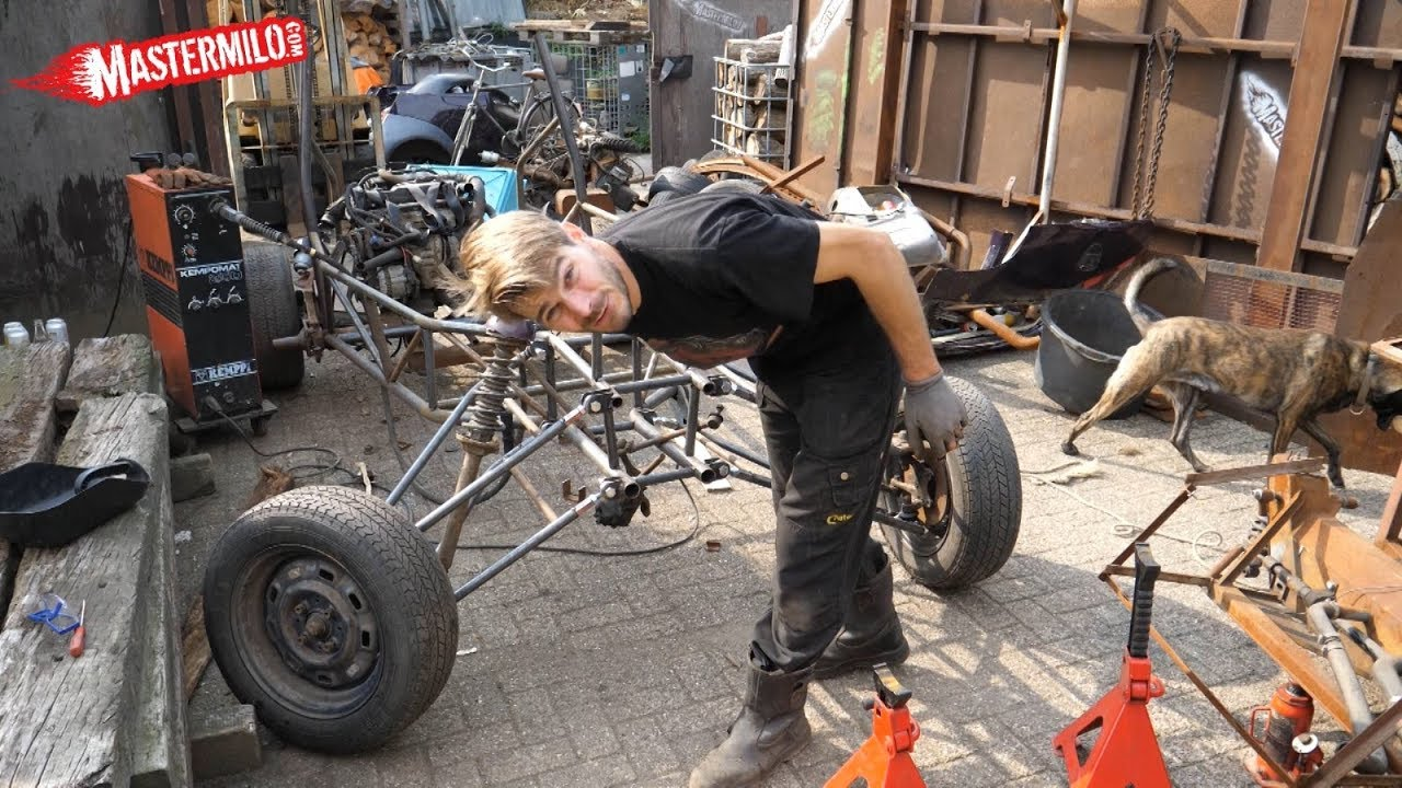 Build A Buggy In Your Backyard Part 2 Frame Front Suspension
