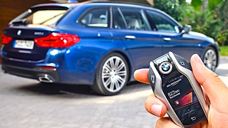 5 Best Options BMW 5 Series Touring 2018 New BMW 5 Series Wagon G31 Estate Options CARJAM TV HD