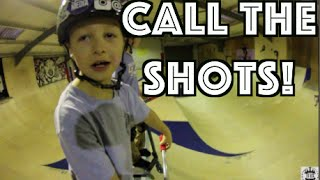 Calling the Shots for 7 Year Old, Charley Dyson
