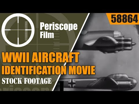 WWII AIRCRAFT IDENTIFICATION MOVIE  BRISTOL BEAUFIGHTER, WHITLEY BOMBER, PBY CATALINA  58864