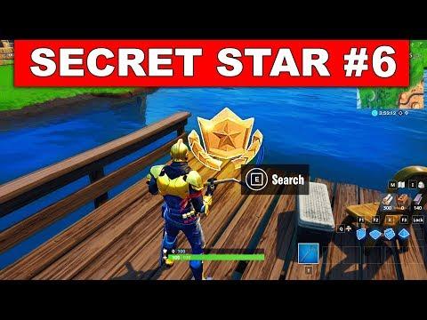 WEEK 6 SECRET BATTLE STAR LOCATION GUIDE SEASON 10 - The Return Challenges Battle Star Season X