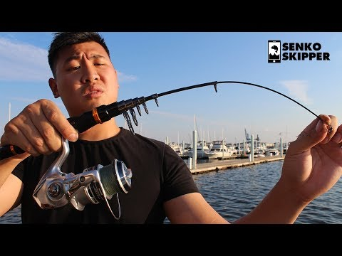 Junk or Gold? Cheap Backpack Fishing Rod