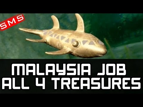 Uncharted 4: All 4 Treasure Locations The Malaysia Job!
