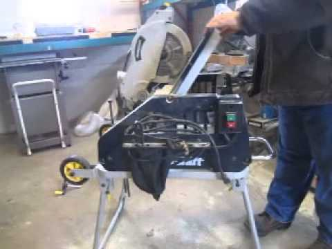 Mastercraft Jobsite Flip-Saw: Combination Mitre Saw/Table Saw
