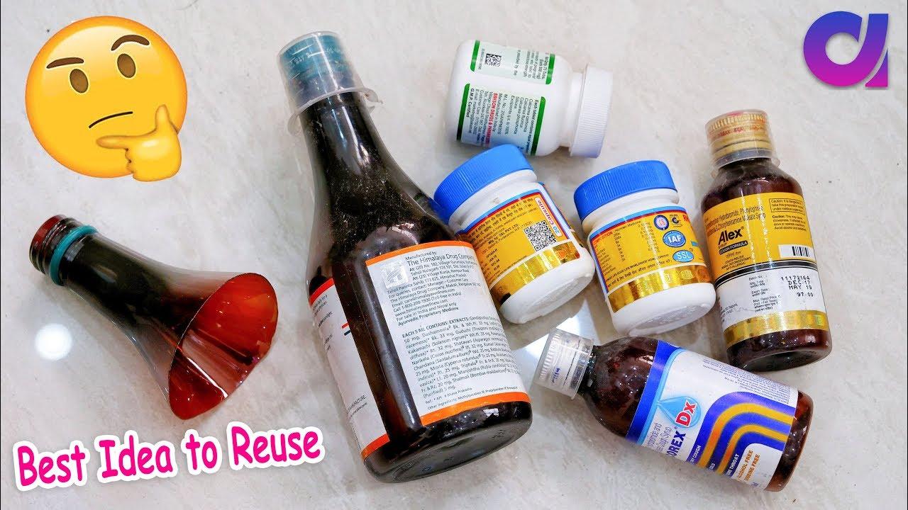 Best Out Of Waste Crafts Idea Of Medecine Bottle Diy Projects