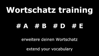 Learn German Unit 1 | Important and Useful Words | Core Vocabulary | German ⇔ English Audio ♫