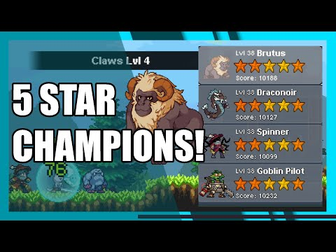 Easy way to 5 star Brutus! (and others) | Monster Sanctuary | Best Team |
