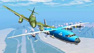 Airplane Crashes #16 - BeamNG DRIVE | SmashChan