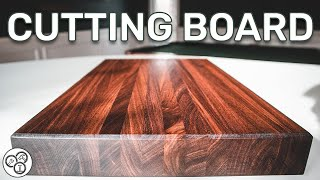 Cutting Board for Beginners | Woodworking Basics