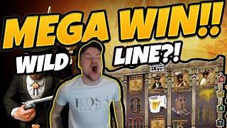 MEGA WIN!!! DEAD OR ALIVE BIG WIN!!! WILDLINE !?!? Gambling form CasinoDaddy