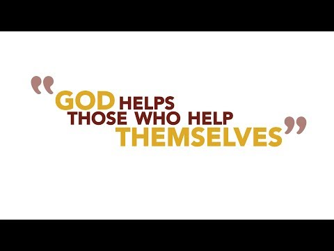 "Did You Know that ""God Helps Those Who Help Themselves"" Isn't in the Bible?"